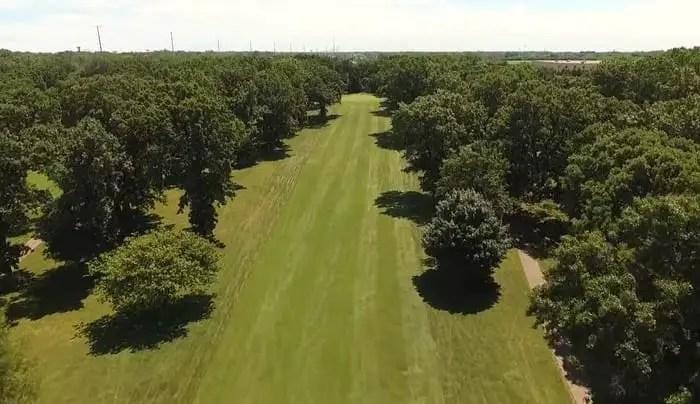 Foss Park Golf Course - 14th Hole