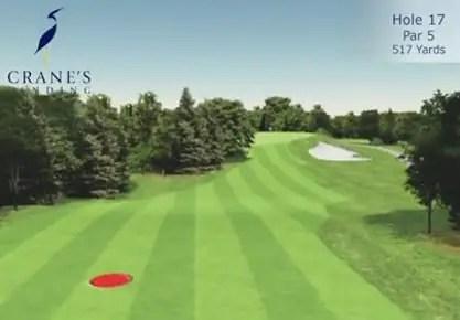 Crane's Landing Golf Club - 17th Hole