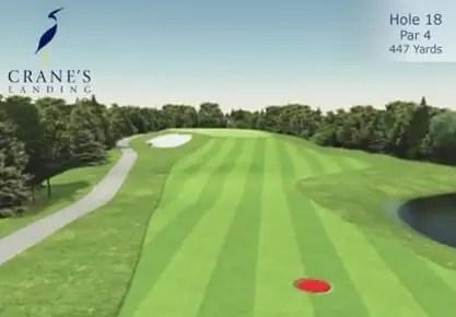 Crane's Landing Golf Club - 18th Hole