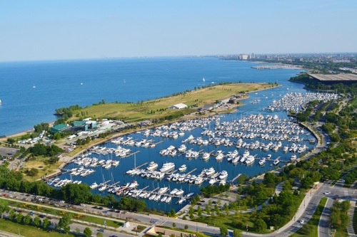 Burnham Chicago Harbors