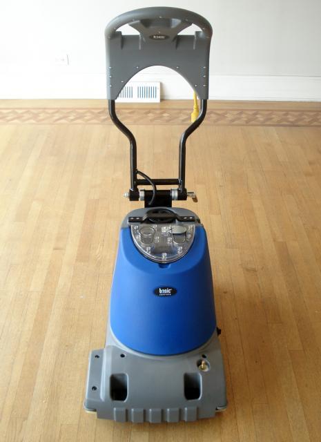 Hardwood Floor Scrubber