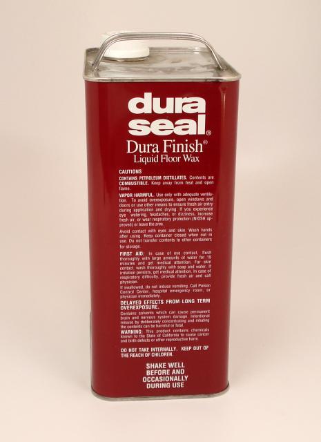 Dura Seal Durafinish Liquid Wax for Hardwood Floors Coffee