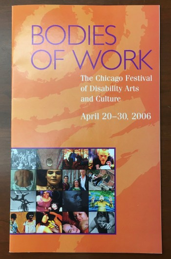 Cover of Bodies of Work: The Chicago Festival of Disability Arts and Culture