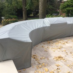 Outdoor Kitchen Covers Soapstone Sink Cover Chicago Marine Canvas Custom