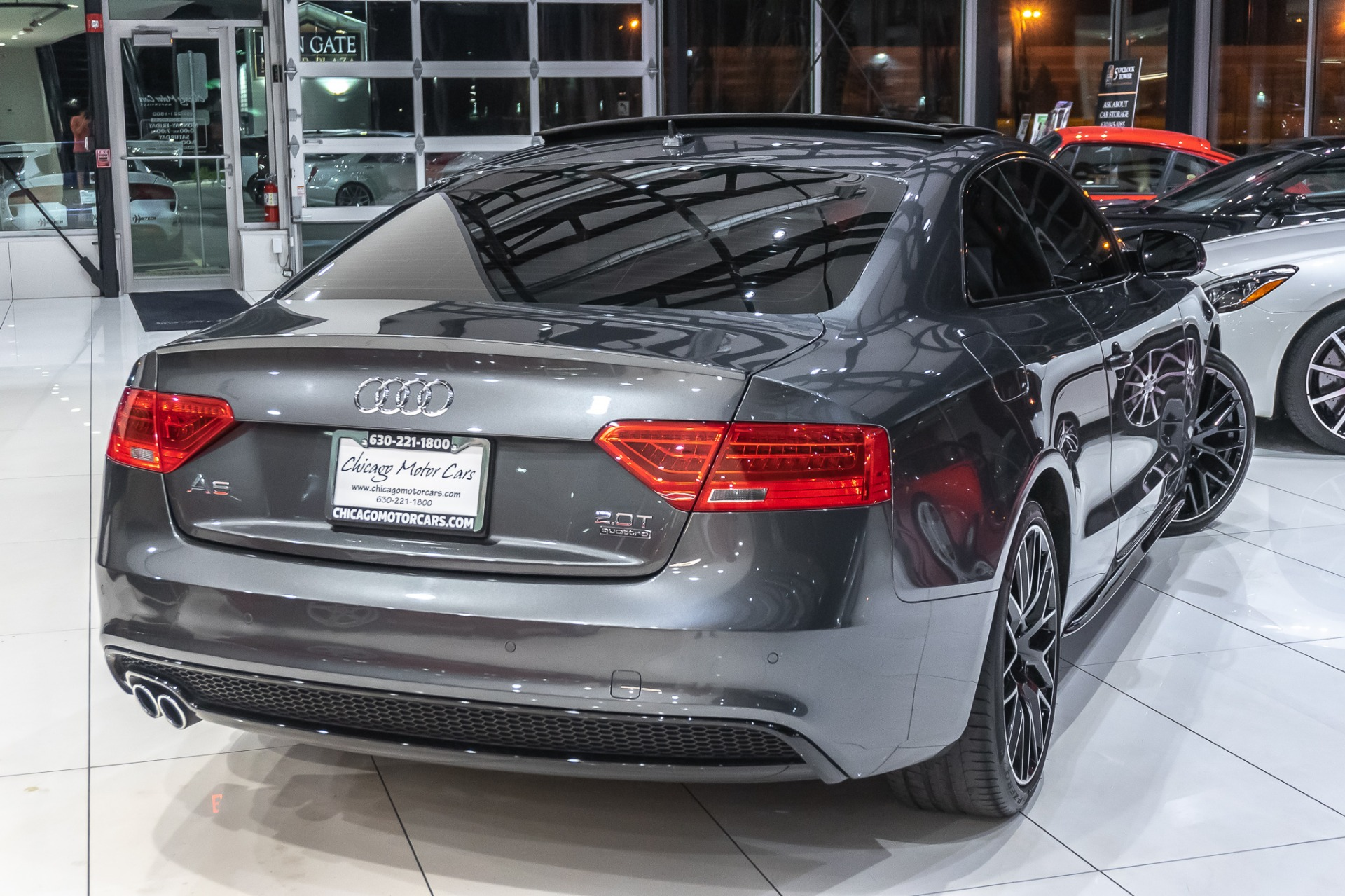 hight resolution of  used 2017 audi a5 sport coupe black optic