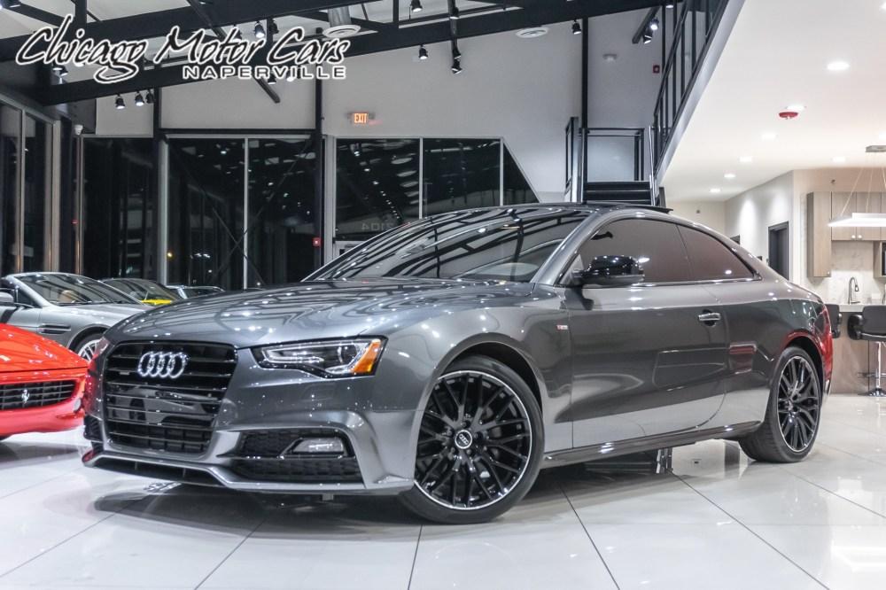 medium resolution of  used 2017 audi a5 sport coupe black optic