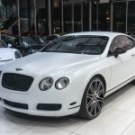 Used 2006 Bentley Continental Gt Coupe Msrp 176k Matte White Vinyl Wrap Recent Service For Sale Special Pricing Chicago Motor Cars Stock 16337d