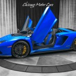 Used 2018 Lamborghini Aventador S Roadster Msrp 572 772 Upgrades For Sale Special Pricing Chicago Motor Cars Stock 15990