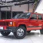 Used 2001 Jeep Cherokee Sport Xj 4 0l 4wd Suv Power Windows Cd Player A C For Sale Special Pricing Chicago Motor Cars Stock 16676