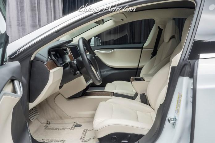 Used 2018 Tesla Model S P100d Sedan Enhanced Autopilot Ludicrous Mode For Sale Special Pricing Chicago Motor Cars Stock 16720