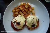 Eggs Benedict for Room Service Breakfast at Loews Chicago Hotel