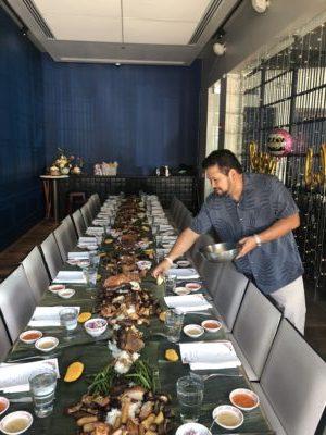 Experience Kamayan A Filipino Food Feast Like No Other