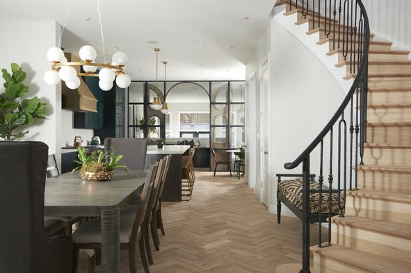 PHOTOS Wicker Park home restored by HGTVs Windy City