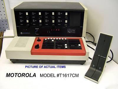 Motorola base station dispatch console