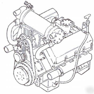 Cummins diesel V903C engine shop manual on cd