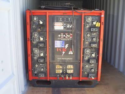 Aftek power 88 - 8 station welding system