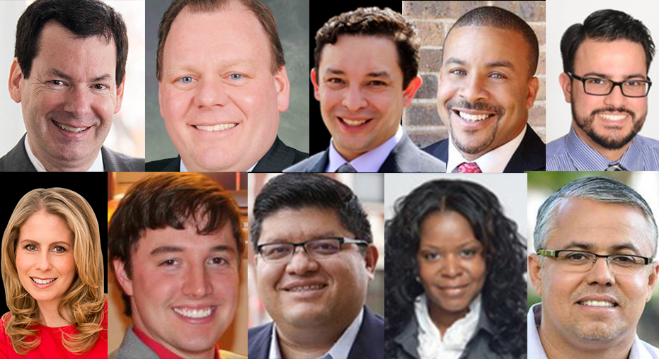 Aldermanic runoff candidates with no incumbent