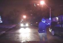 Police shooting dashcam footage