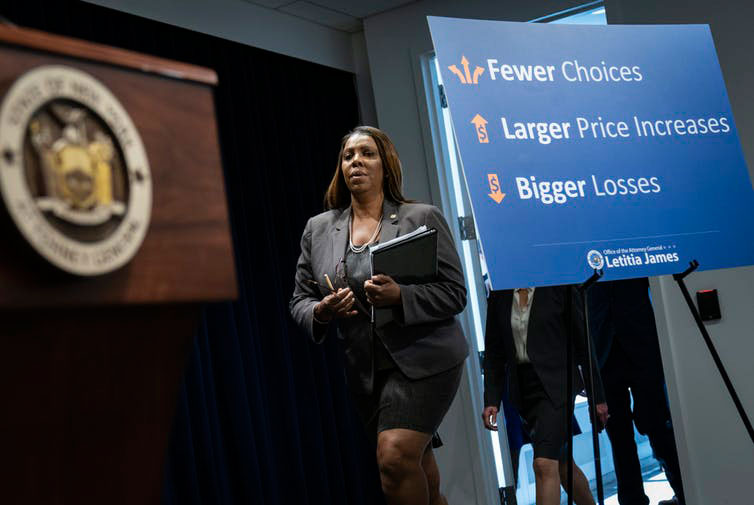 The lawsuit filed by New York Attorney General Letitia James and 13 colleagues was the last roadblock to the merger.