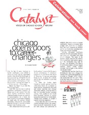 Catalyst Chicago issue cover, published Nov 1999
