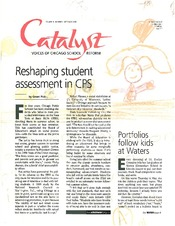 Catalyst Chicago issue cover, published Sep 2000