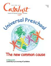 Catalyst Chicago issue cover, published Apr 2003