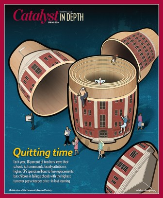 Catalyst Chicago issue cover, published May 2014