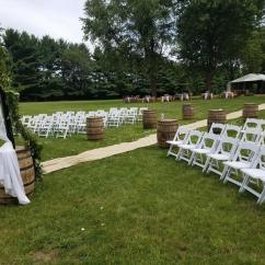 Chair Cover Rentals Rockford Il Ivory Mongolian Faux Fur Cushion Step It Up Rental Chicagostyle Weddings In Hebron Illinois