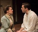 Sarah Bockel as Lucille and Jim DeSelm as Leo