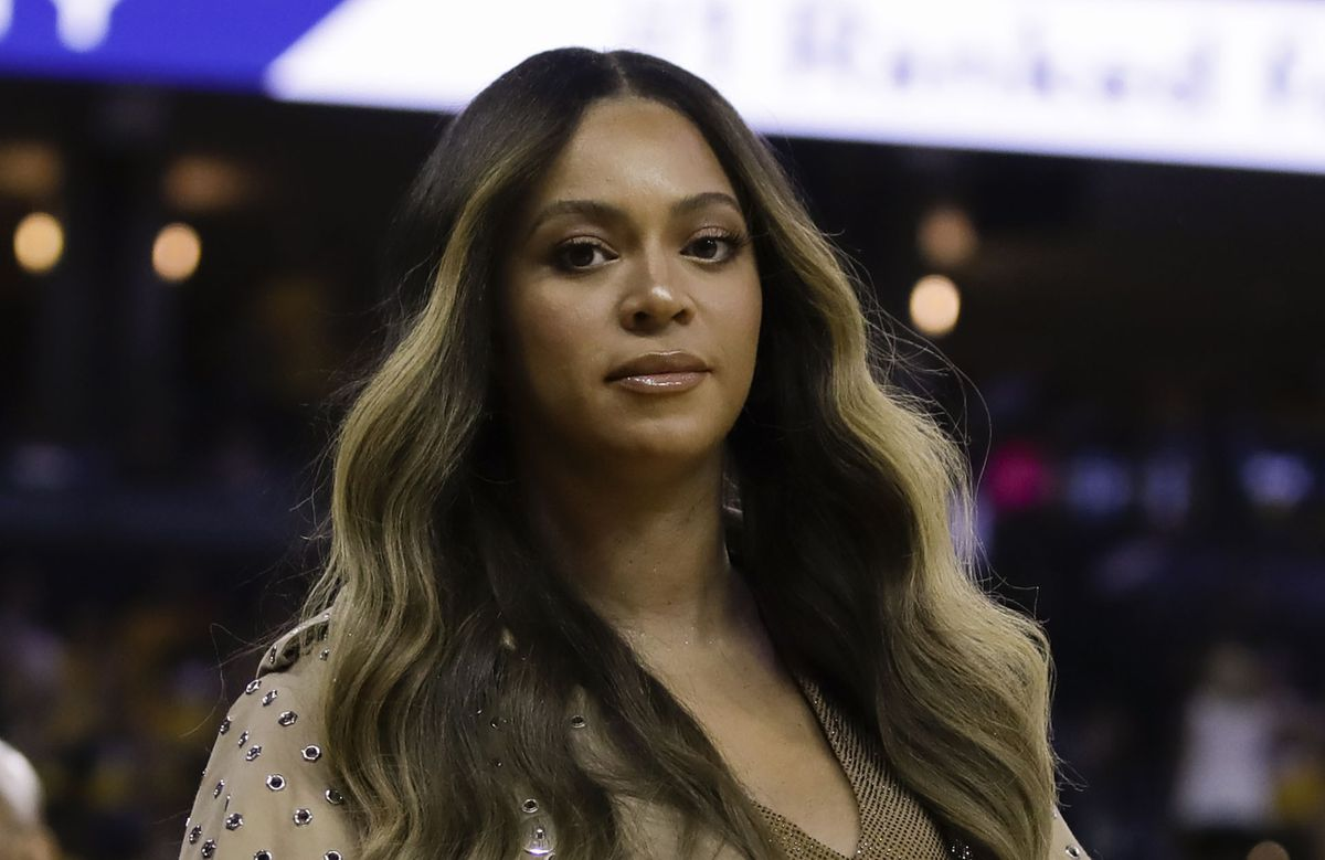 beyonce releases blistering black