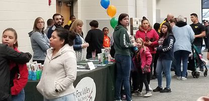 Residents take part in a previous Youth and Family ResourceFair in Aurora. The city of Aurora will host the eighth Aurora Youth and Family Resource Fair on Thursday.