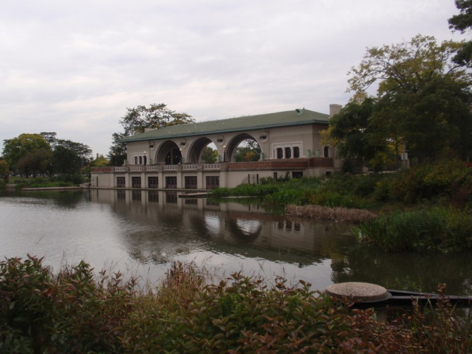 Boathouse and Refectory and Music Court
