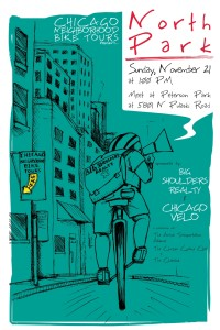 Tour of North Park 2010 Poster by Ross Felton