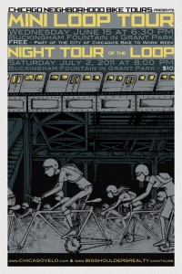 Tour of the Loop 2011 Poster by Ross Felton