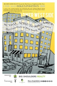 Tour of Lower West Side 2010 Poster by Ross Felton