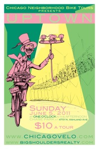 Tour of Uptown 2011 Poster by Ross Felton