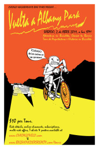Tour of Albany Park 2011 Poster by Ross Felton