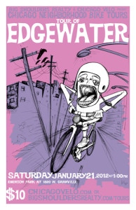 Tour of Edgewater 2012 Poster by Ross Felton