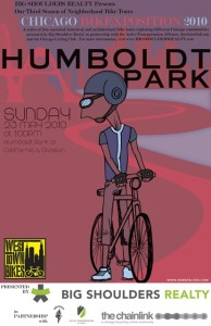 Tour of Humboldt Park 2010 Poster by Ross Felton