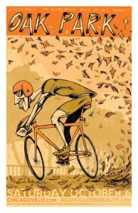 Tour of Oak Park 2012 Poster by Ross Felton