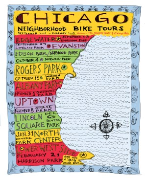 Chicago Neighborhood Bike Tours Fall and Winter 2014-2015