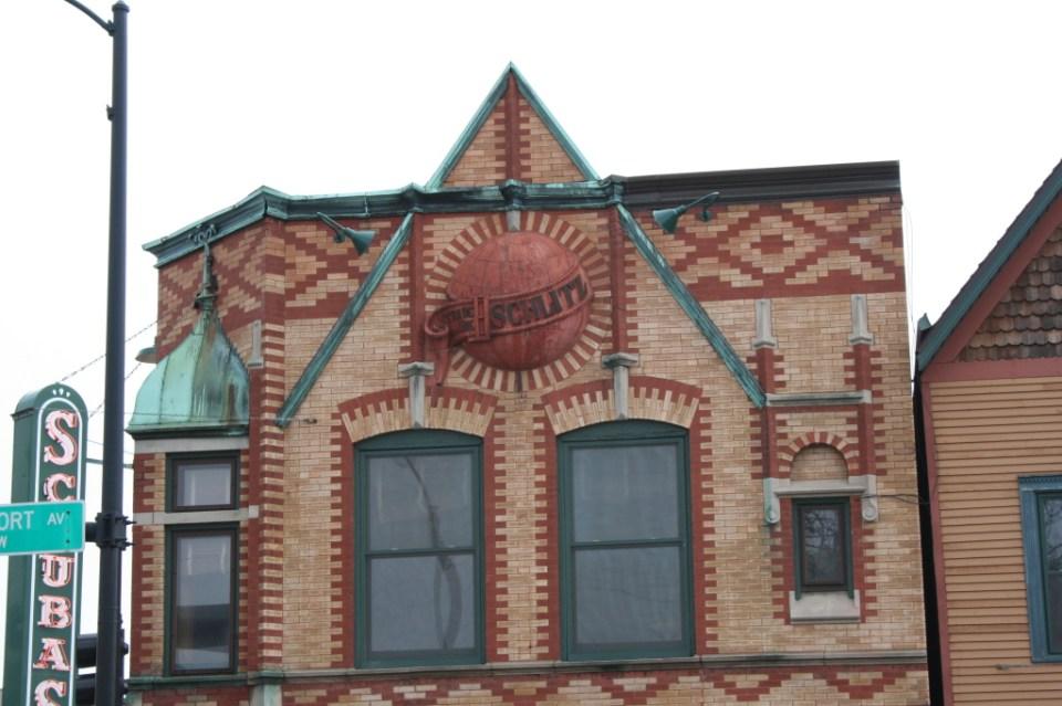 Shubas excellent surviving Schlitz Tie-House Relief