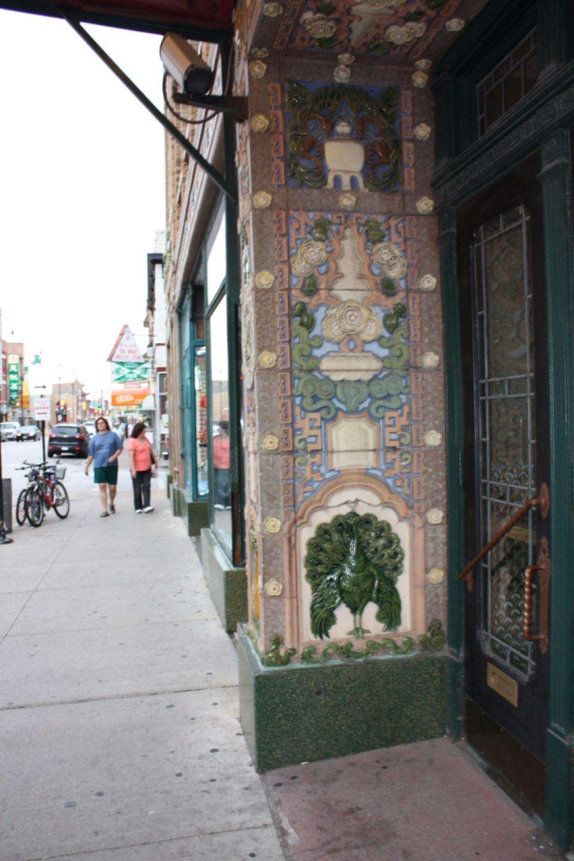 On Leong Merchant's Association entry wall