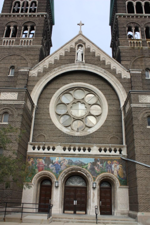 St. Anthony Catholic Church, front