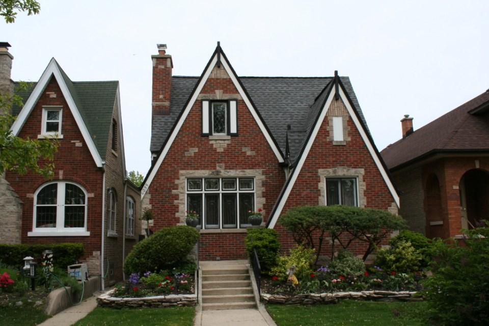 6035 N Mason – Tudor Revival circa 1930