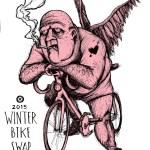 Winter Bike Swap 2015 Poster
