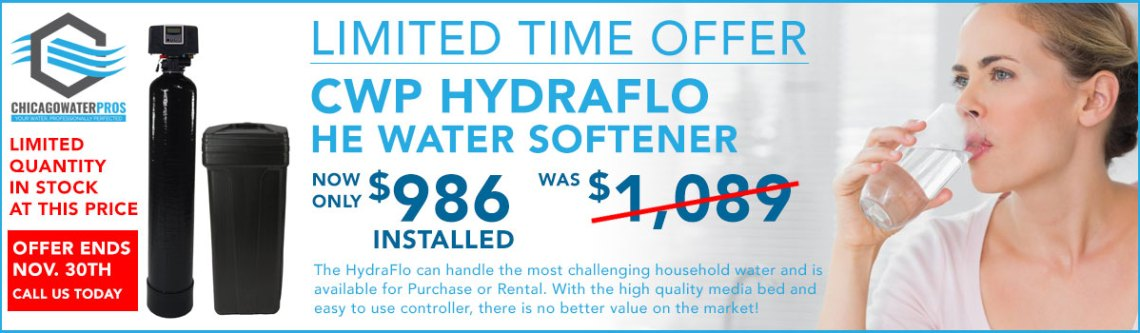 Chicago home water softners