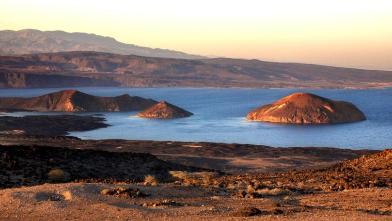 The Bay of Ghoubbet, Djibouti. Image shot 2007. Exact date unknown.