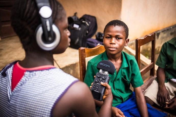 Sierra Leone story telling