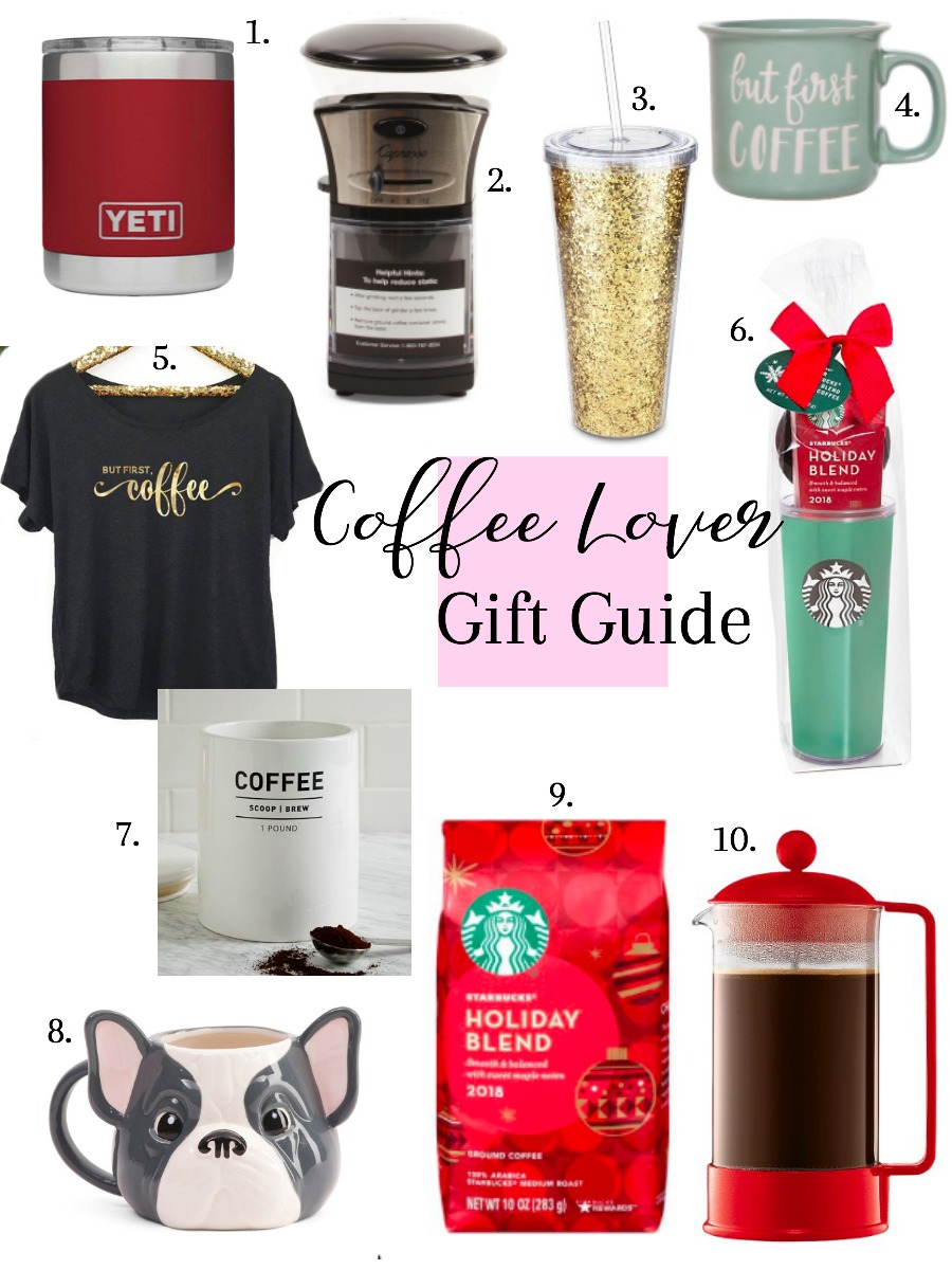 Gift guide for the coffee lovers in your life!